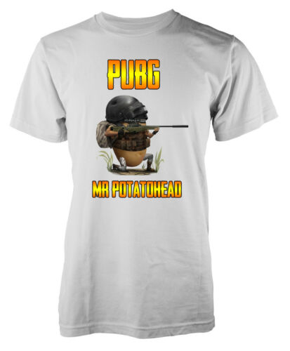Joueur inconnu Battleground Mr Potatohead Mashup adulte pubg T-Shirt
