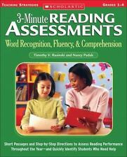 3-Minute Reading Assessments: Word Recognition, Fluency, and Comprehension: Gra
