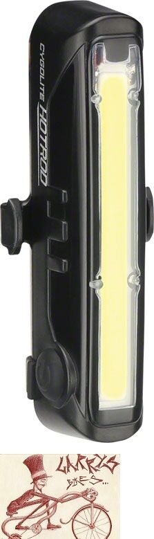 CYGOLITE HOTROD 110 RECHARGEABLE  BICYCLE HEADLIGHT  very popular
