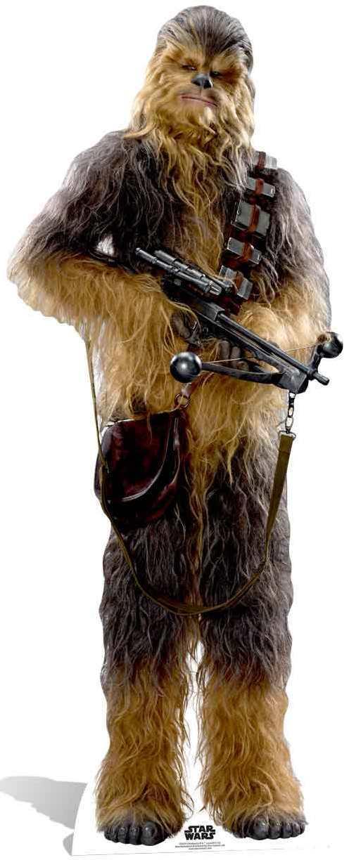 SC-829 Chewbacca The Force Awakens Star Wars 193cm Présentoir Carton de Cinéma