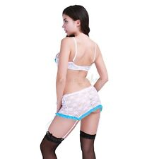35ae4f99b4 item 5 Women Lace Scalloped Open Bust Push Up Shelf Bra Underwear G String  Stocking Set -Women Lace Scalloped Open Bust Push Up Shelf Bra Underwear G  String ...