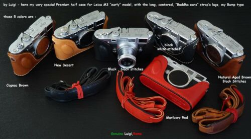 UPS//DHL incluido Bump Luigi caso para Leica M3 temprano con orejas de Buda Correa Lugs