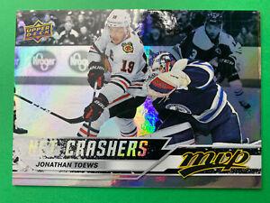 2020-21-Upper-Deck-MVP-Net-Crashers-NC-7-Jonathan-Toews-Chicago-Blackhawks