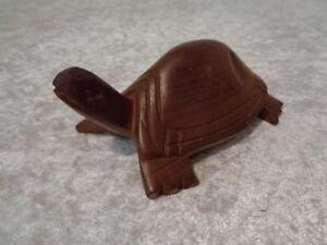 Legno Figura/Figura di Legno Tartaruga - Intagliato / Fatto a Mano - 15 CM