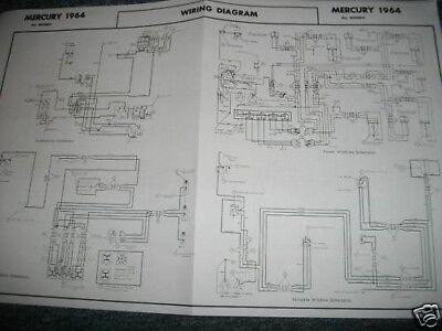 [SCHEMATICS_48IU]  1964 MERCURY MONTCLAIR MONTEREY MARAUDER WIRING DIAGRAM   eBay   1966 Mercury Montclair Wiring Diagram      eBay