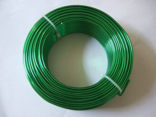 5 Meters of 2mm Aluminum Crafts Floristry Wire For Jewellery Beading Making