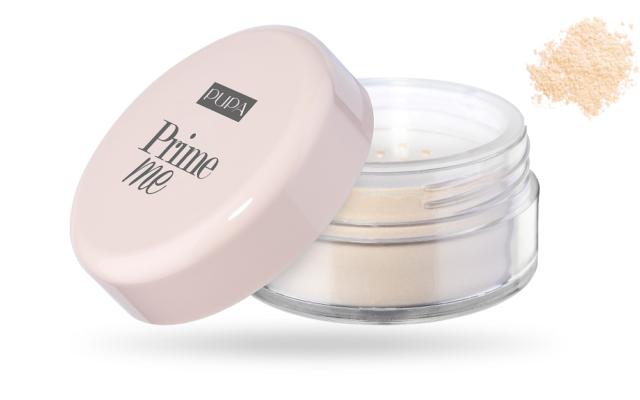 PUPA Prime Me 001 Translucent 4,5g - Cipria Trasparente Fissante