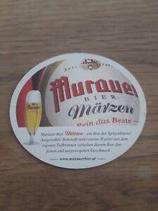 Alter Bierdeckel Österreich Murauer Bier Beercoaster