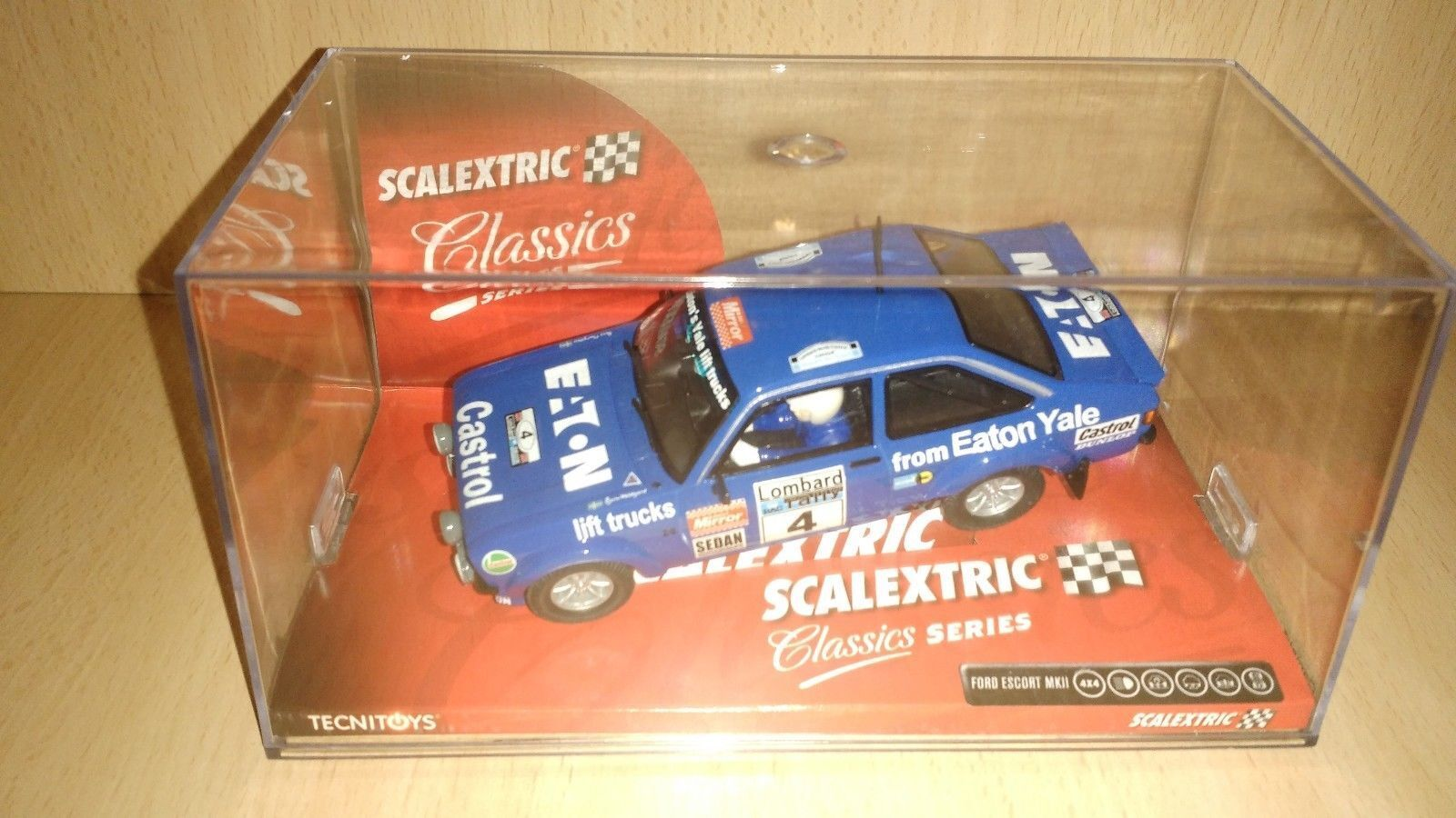 Scalextric  ford escort Mk2 RS1800 The Works Eaton Yale