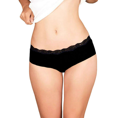 Women Lace Underwear Hipster Panties Cotton Low-Rise knickers Briefs