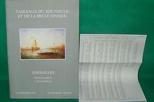 catalogue-vente-encheres-VERSAILLES-Tableaux-modernes-liste-prix-de-vente-16