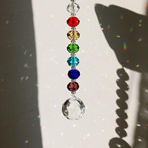 Handmade-Crystal-Rainbow-Suncatcher-Ball-Prisms-Hanging-Window-Home-Decor-Gifts