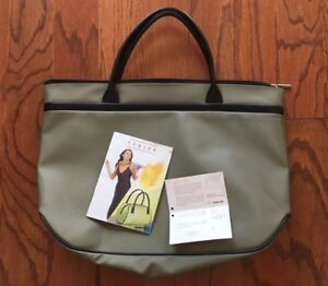 Image Is Loading Texier Grey Tote Bag Handbag Purse