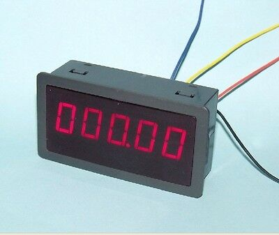 "0.56"" DIGITAL Red LED Frequency and Tachometer Rotate Speed Meter DC 12-24V"