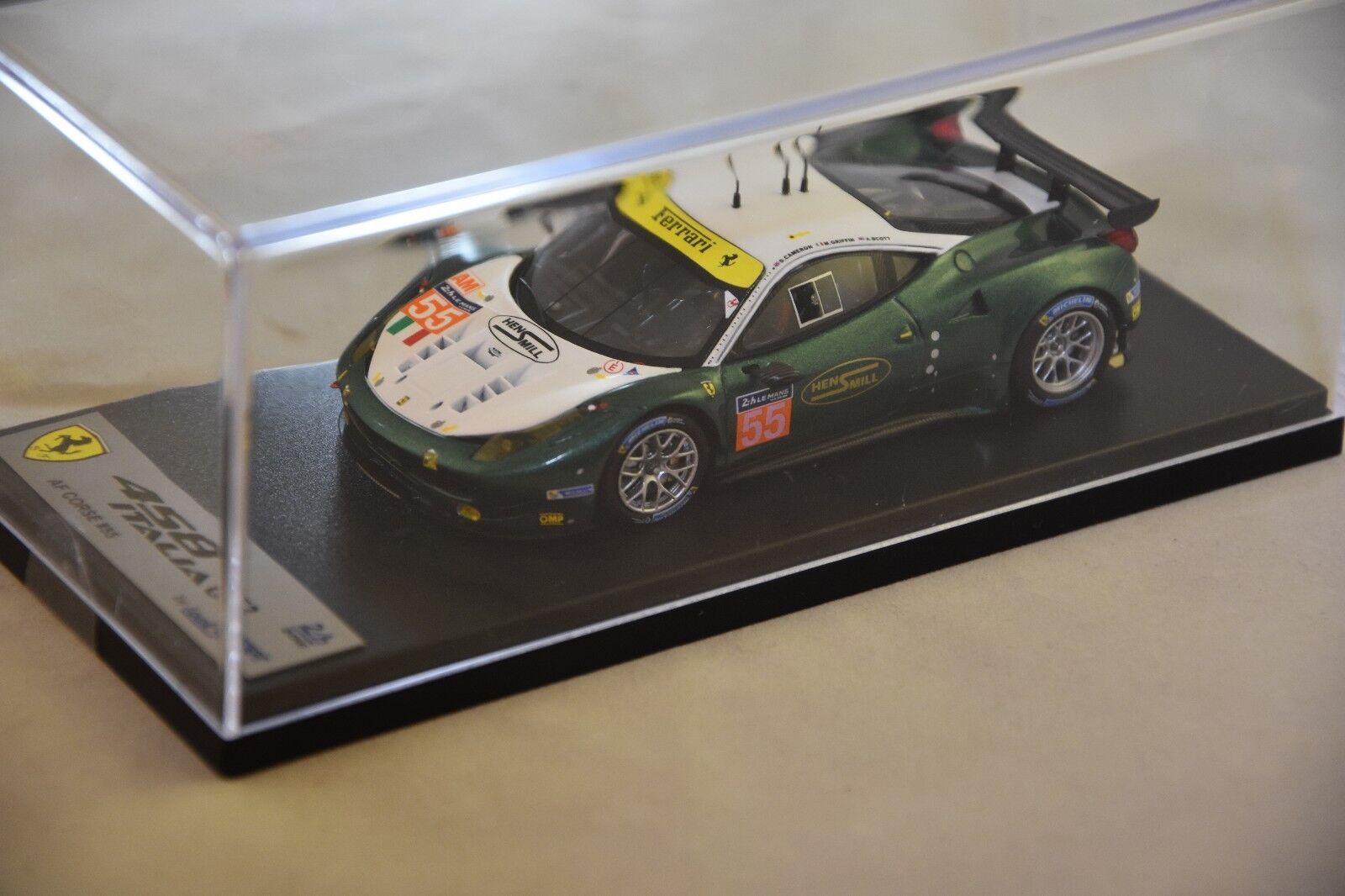 LOOKSMART LSLM035 - FERRARI 458 Italia AF Corse n°55 44ème LM16 Le Mans 1 43