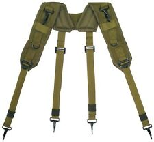 Suspenders Lc-1 for Military Pistol Belt Olive Drab Green Y Harness