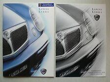 Prospekt Lancia Lybra Limousine/SW, 10.1999, 44 Seiten + Technische Daten/Preise