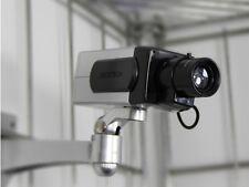 Dummy Security Camera - Dummy CCTV Camera - Motion Detecting + Free CCTV Sticker