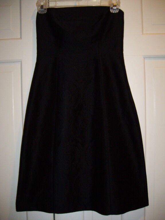 Nwt Theory Orsolya Trägerlos Schwarze Wolle Kleid Größe 6 Einzelhandel | Wirtschaft  | Vorzüglich