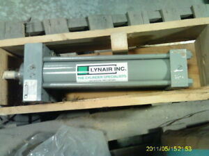 LYNAIR-4-BORE-9-034-STROKE-HYDRAULIC-MILL-TYPE-2000PSI-HD-CYLINDER