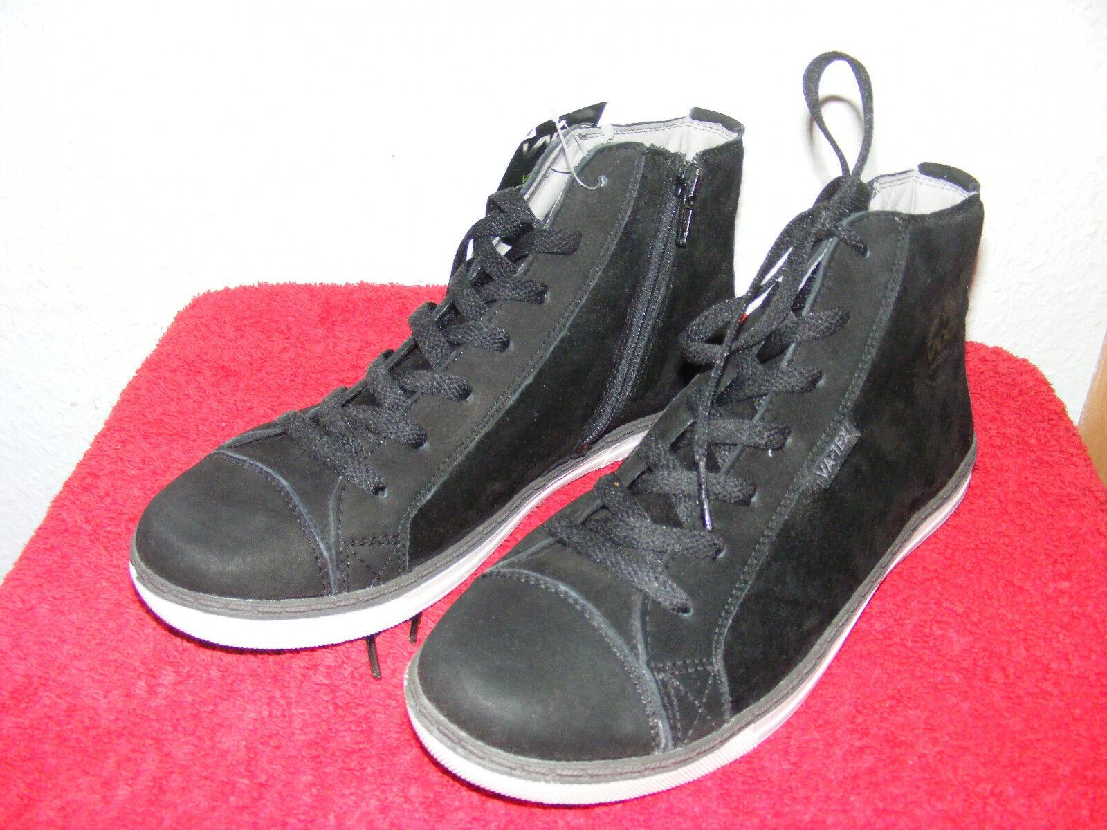 TG. 38 Neri Stivali Stivaletti da donna nero nuovo caviglia alta vado ORGINAL