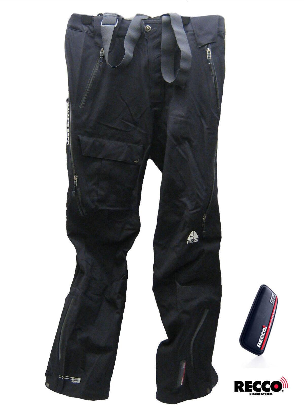 Nike Mujer Acg Recco Peto de Esquiar Pantalones Negros XXL