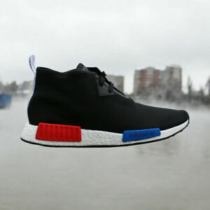 san francisco 2d01d ac9fb Details about adidas Originals NMD_C1 S79148 Black Red Blue Chukka City  Sock NMD OG MEN NEW DS
