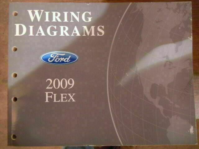 2009 Ford Flex Wiring Diagrams Shop Service Manual Tb519
