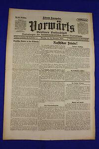 Avanti (24. novembre 1919): pace russo?