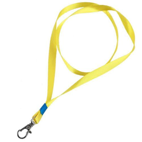 Lanyards Neck Strap For ID Pass Card Badge Gym Key Mobile Phone USB Holder LC