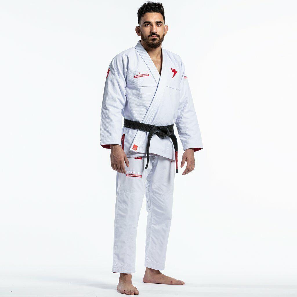 Storm Cautela Matrix II Bjj Gi blancoo Jiu Jitsu Kimono Uniforme Pelea