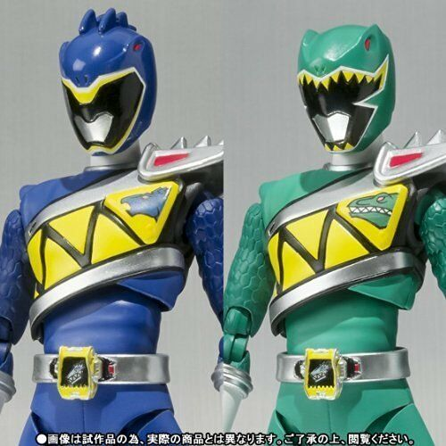 Bandai S.H. Figuarts Zyuden Sentai Kyoryuger Kyoryu Blau & Grün Action Figure
