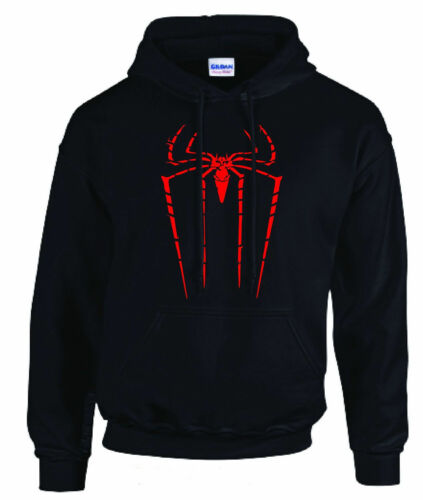 2 Colour Spiderman Hoodie Inspire Marvel Unisex Pullover Inspired Gift Venom