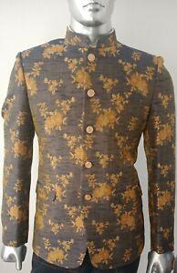 Men-039-s-Designer-Jodhpuri-Suit-Blazer-Party-Wear-Wedding-Blazer-Coat