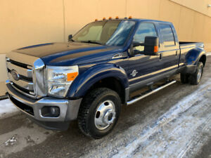 2012 FORD F-450 LARIAT CREW CAB 4X4 DUALLY DIESEL ! GREAT DEAL !