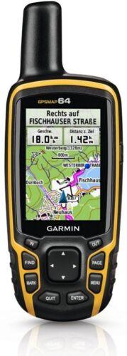 "Garmin GPS Map 64 Outdoor pro GPS Many Functions 6,6 cm 2,6 /"" Display"