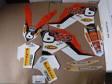 TEAM BTO KTM GRAPHICS 2007-2010 SXF SX XC XCW  & 2008-2011 EXC XCW XCWF EXCF