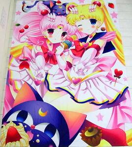 Sailor Moon Anime Manga Bettdeckenbezug Bettwäsche 150x220cm Neu Ebay