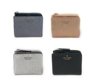 Kate-Spade-Glitter-Small-Wallet-L-Zip-Bifold-Joeley-Gift-Box-WLRU5840-99