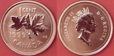 Specimen 1999 Canada 1 Cent From Mint's Set