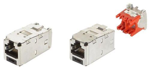 Qty 24 CJS5E88TGY Panduit Cat5e SHIELDED TX5E Mini-Com Black Jack