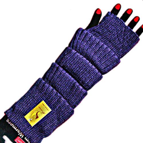 Damen Handstulpen Armstulpen 1 Paar Pulswärmer Stulpen fingerlos Farbe wählbar
