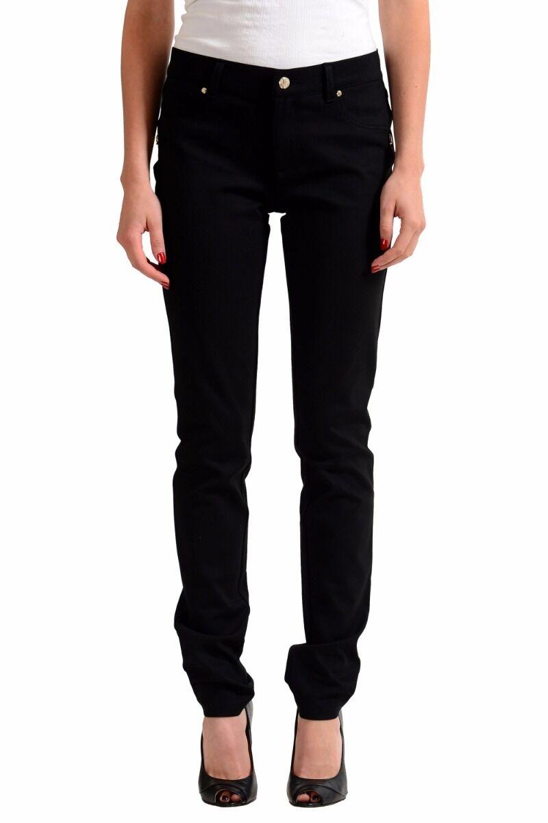 Versace Jeans Schwarz Damen Slim Fit Jeans Größe 7 8