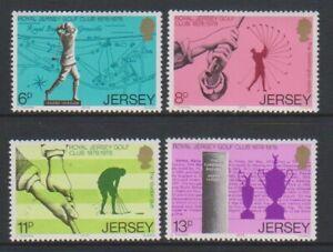 Jersey - 1978, Golf Club Set - MNH - Sg 183/6