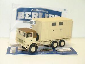 Berliet Sides GLC 28 Fire Pump 1:43 IXO Direkt Militärfahrzeug C04