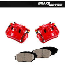 For Nissan Frontier Xterra Equator Front And Rear Red Brake Calipers Pair