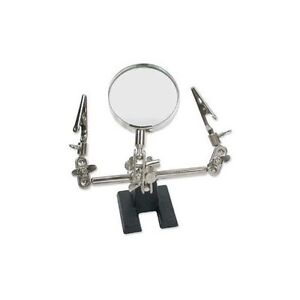 SilverSmith Magnifying (CLAMP) Soldering TOOL Third 3rd Hand ~  2x Magnification