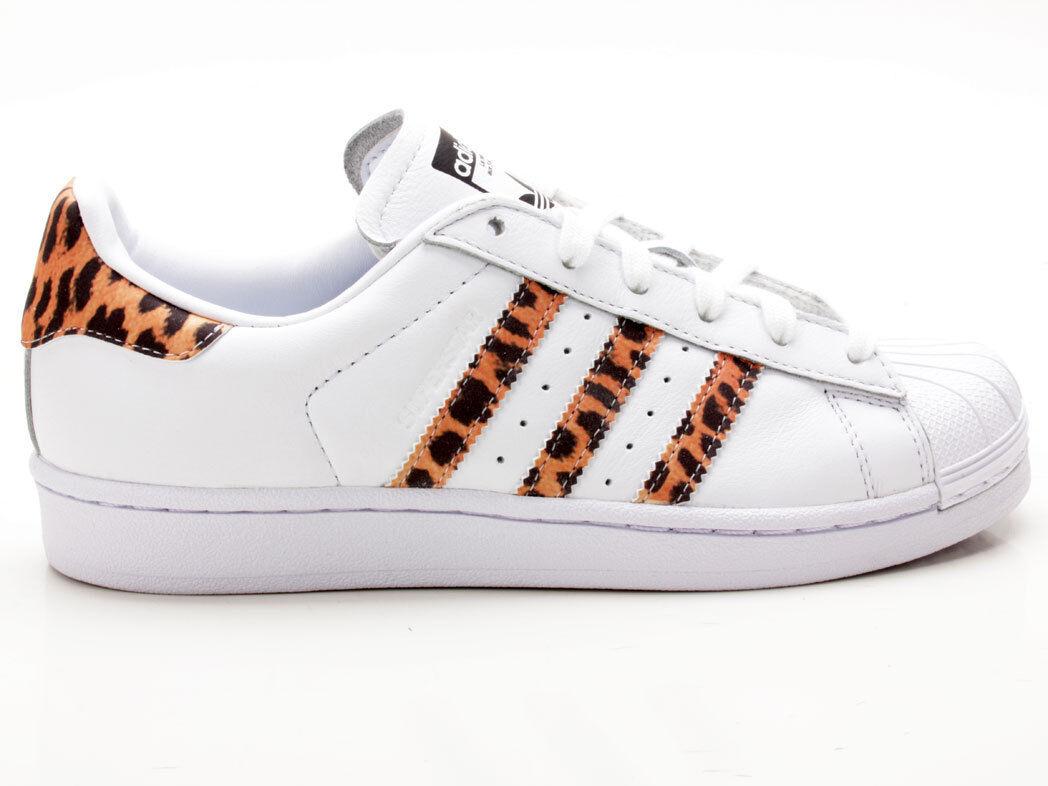 Adidas Superstar W CQ2514 white-brown-black