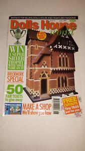 AgréAble Maison De Poupées Monde Magazine Issue 57-afficher Le Titre D'origine Nombreux Dans La VariéTé