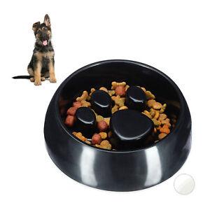 Anti Schling Napf Hundenapf Großer Fressnapf Langsames Fressen Futternapf rund